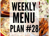Weekly Menu Plan 28
