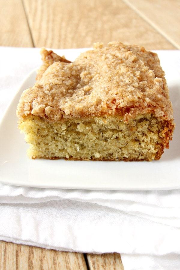 Banana Coffee Cake Recipe - RecipeGirl.com