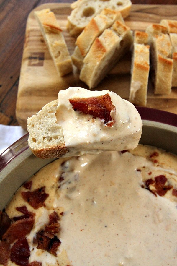 Beer and Bacon Dip Recipe