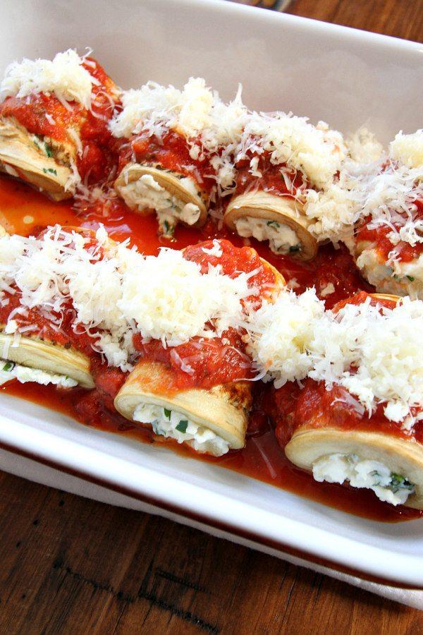 Eggplant Rolatini Recipe Prep