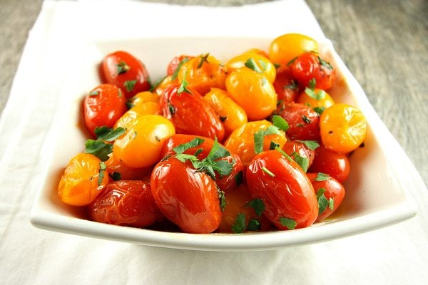 Sauteed Tomatoes with Thyme