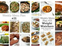 Weekly Menu Plans 31