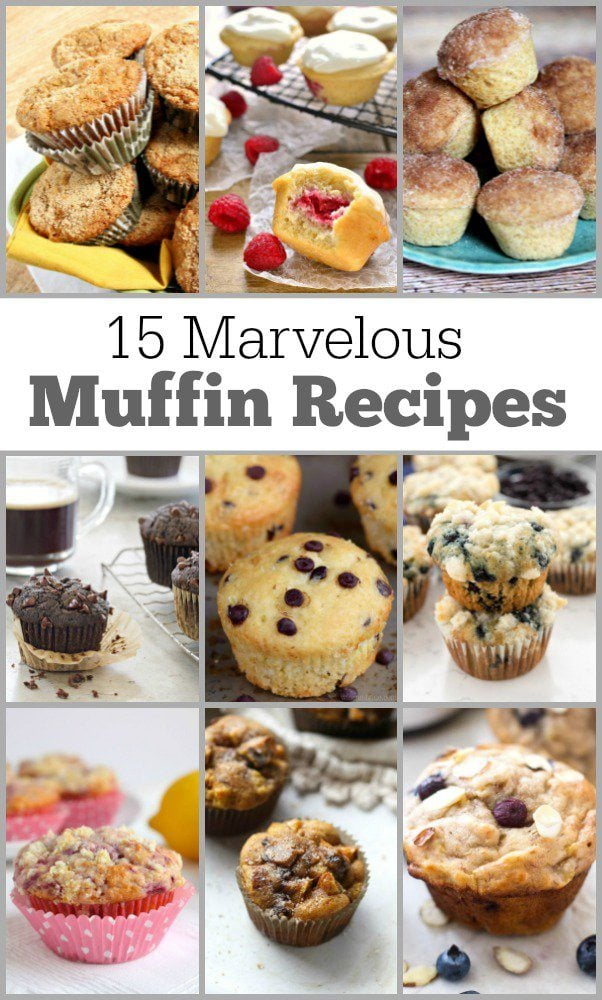 15-Marvelous-Muffin-Recipes