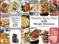 Weekly Menu Plans 34