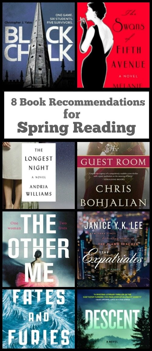 8 Book Recommendations for Spring Reading