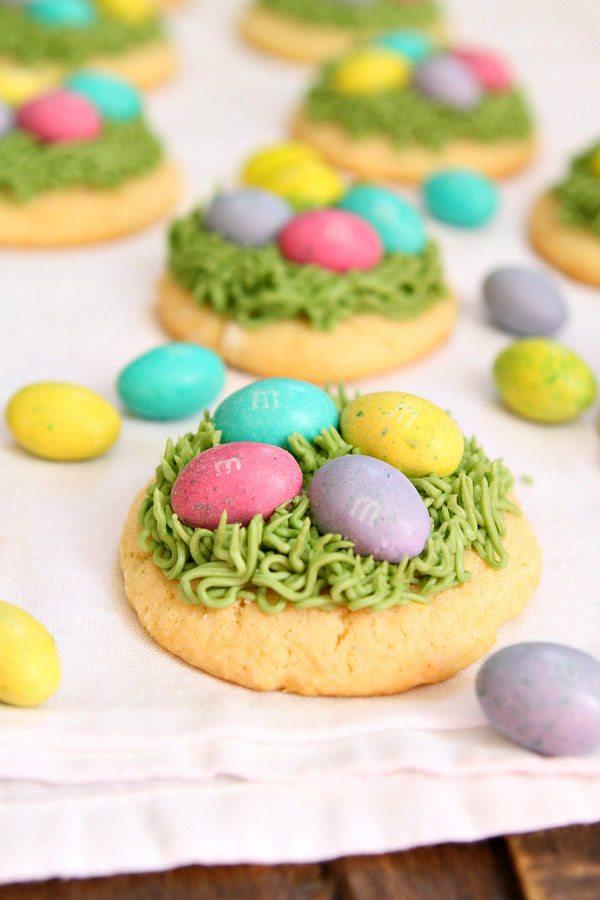 Easter Grass Sugar Cookies