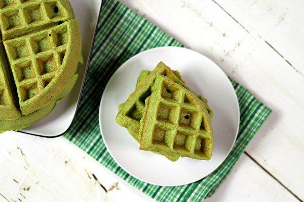 Green Smoothie Waffles Recipe Girl