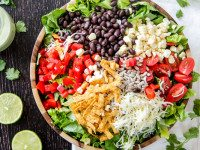 Southwest Salad with Avocado Dressing 4