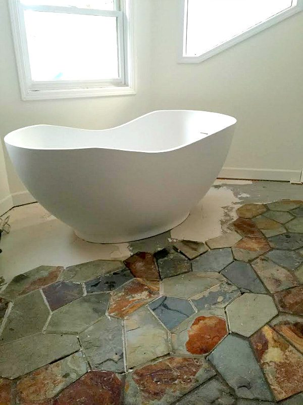 Bathtub Progress