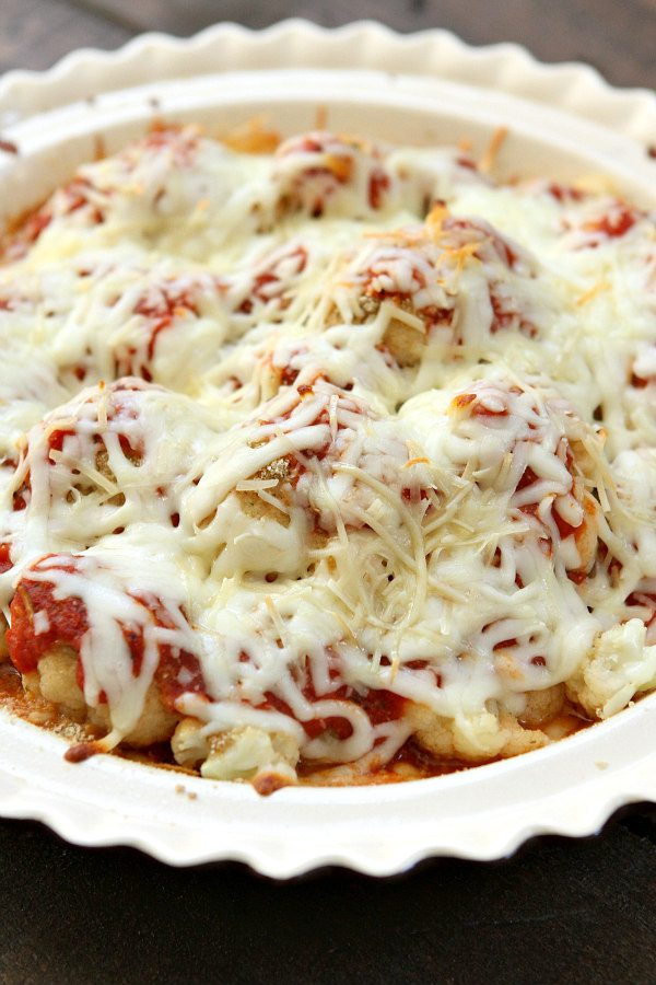 Cauliflower Pizza Casserole Recipe