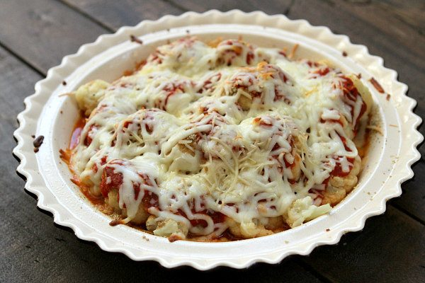 Cauliflower Pizza Casserole