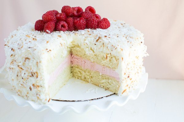 Coconut Marshmallow Cake Recipe