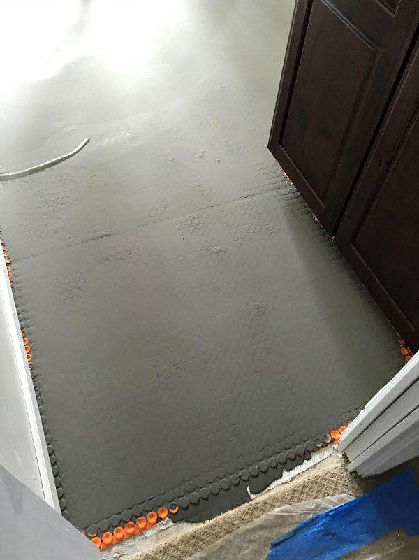 Ditra Heat Floors