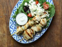 Greek Chicken Kebabs 1