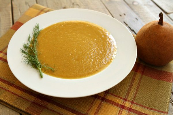Pear and Fennel Soup Recipe
