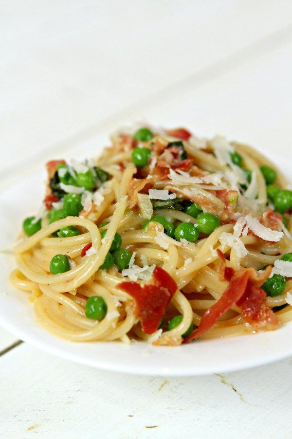 Spaghetti Carbonara Recipe - from RecipeGirl.com
