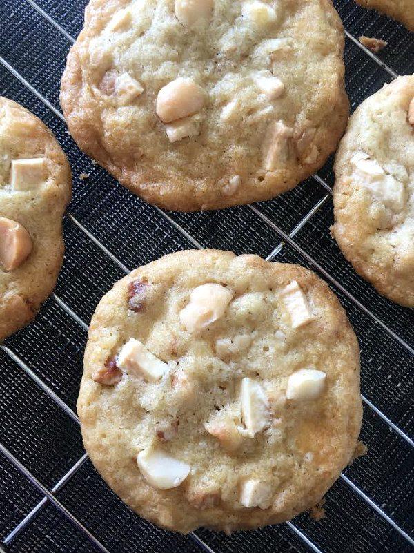 White Chocolate Macadamia Nut Cookies Recipe - RecipeGirl.com