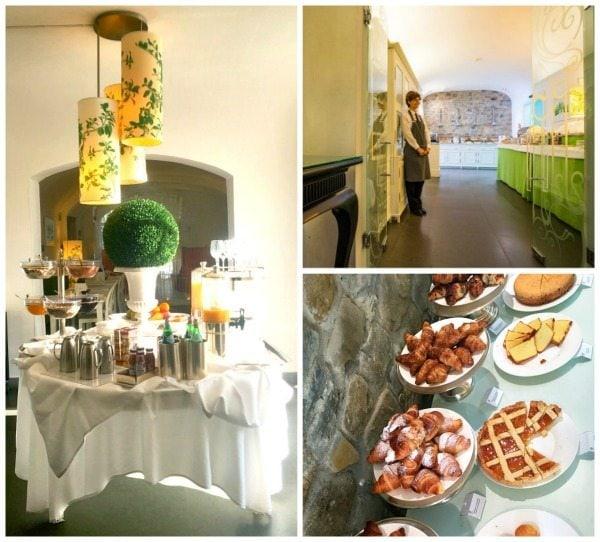 Breakfast at Villa Le Maschere