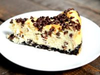 Chocolate Chip Cheesecake