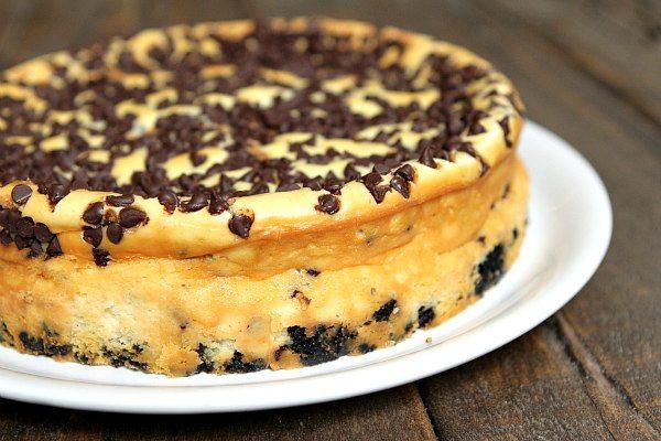 Chocolate Chip Cheesecake - Recipe Girl