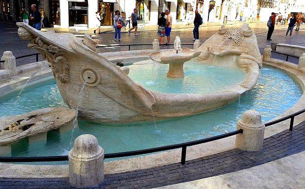 Fontana della Barcaccia- Rome, Italy