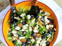 Glazed Walnut Salad