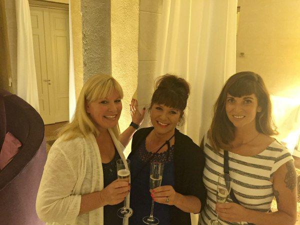 Champagne at Villa Le Maschere