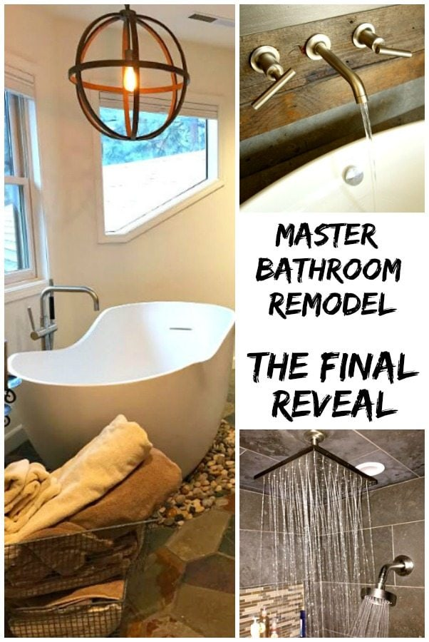 Master Bathroom Remodel- the Final Reveal