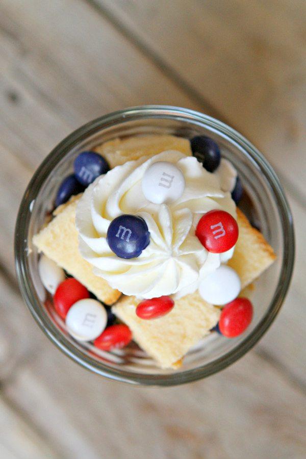 Patriotic Trifles from RecipeGirl