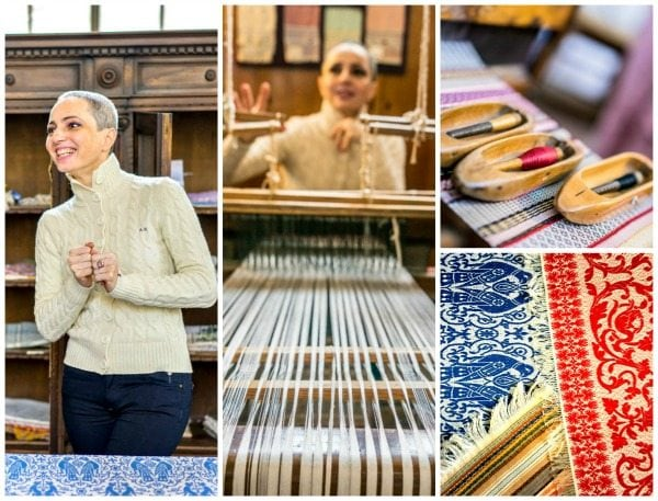 Weaving in Perugia, Italy