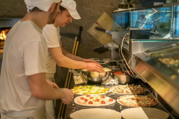 Pizzeria San Marcos- Rome, Italy