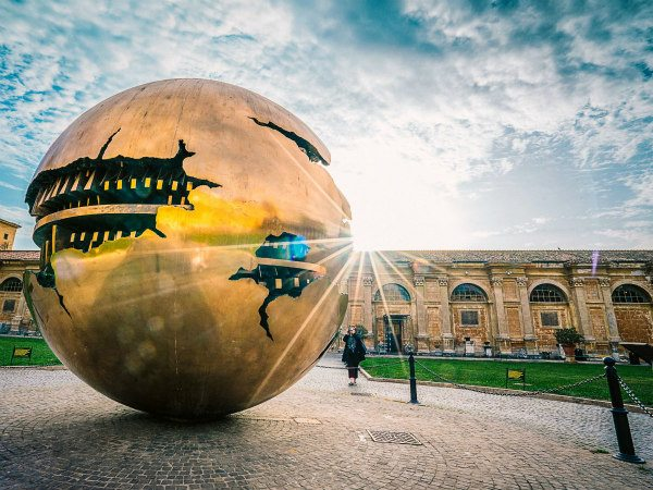 Sphere within a Sphere- Rome, Italy
