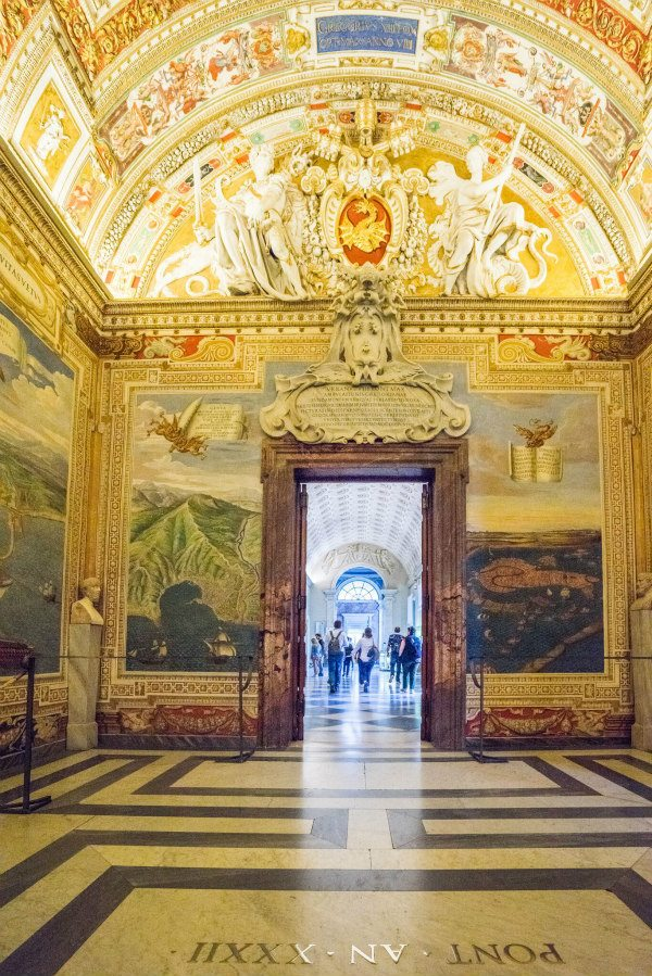 The Vatican Hallways to the Sistine Chapel- Rome, Italy