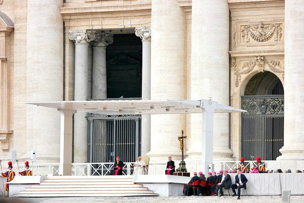Pope Francis- St. Peter's Square