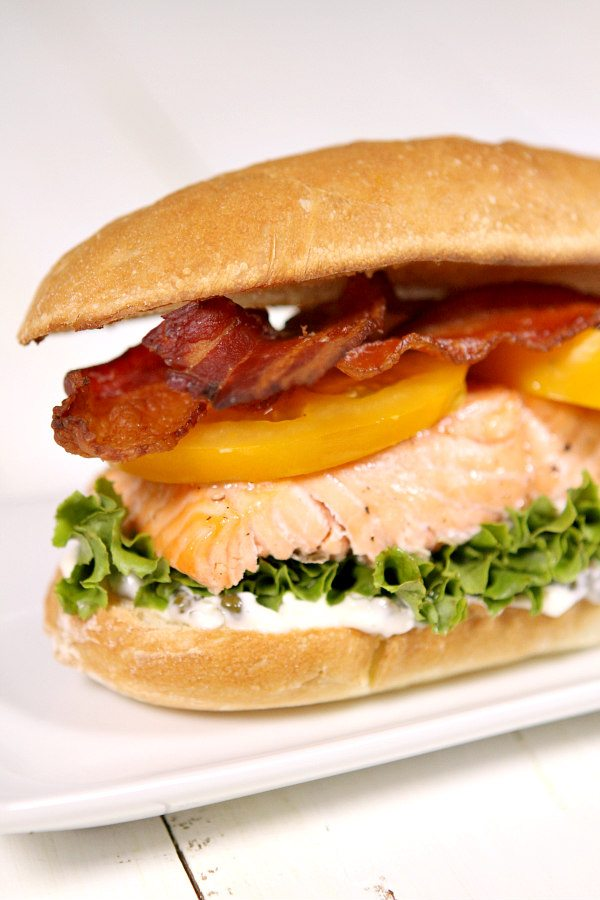 Salmon BLT Recipe
