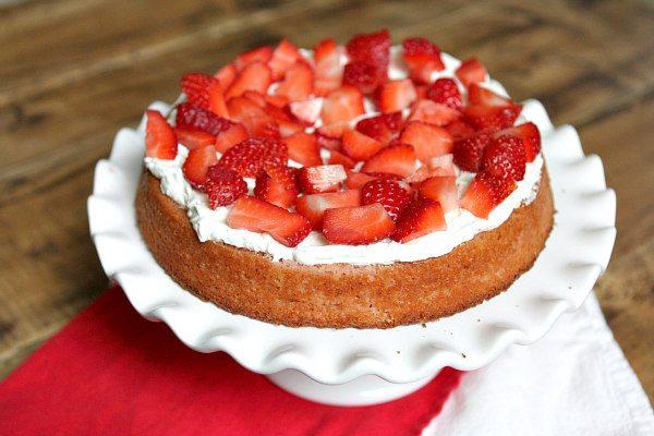Strawberry Layer Cake 1