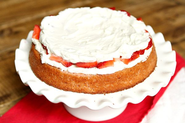 Strawberry Layer Cake 2
