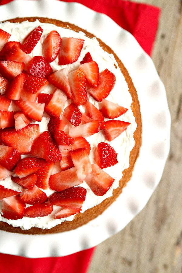 Strawberry Layer Cake Recipe -