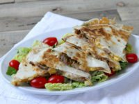 Pork Rib and Corn Quesadillas