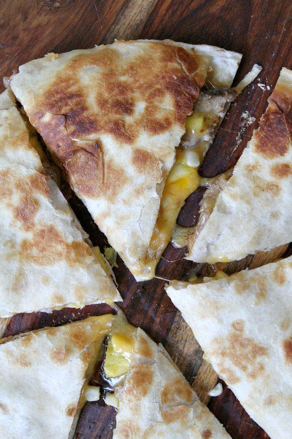 Pork Rib and Corn Quesadillas Recipe