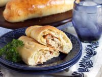 Chicken Cordon Bleu Calzone 5