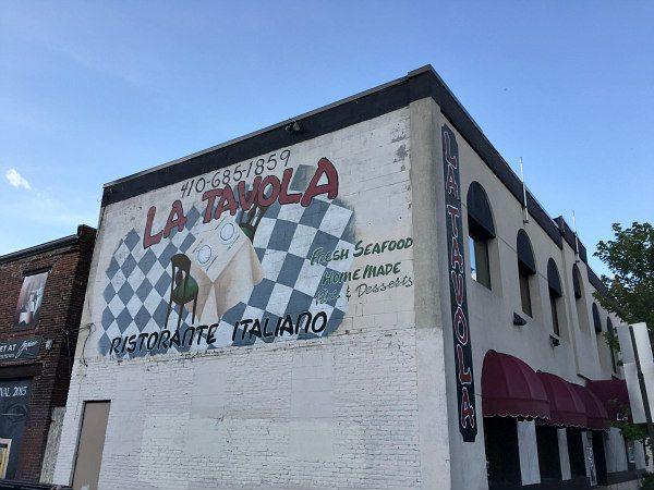 Baltimore: Inner Harbor- La Tavola