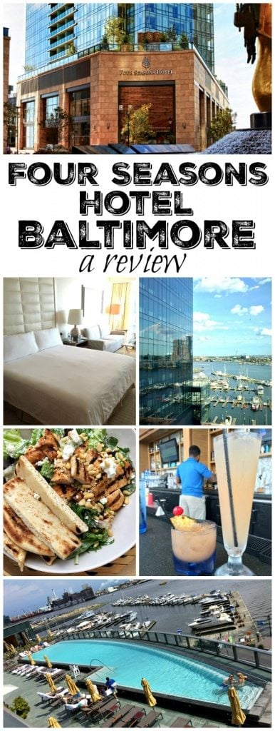 Four Season's Hotel Baltimore a review