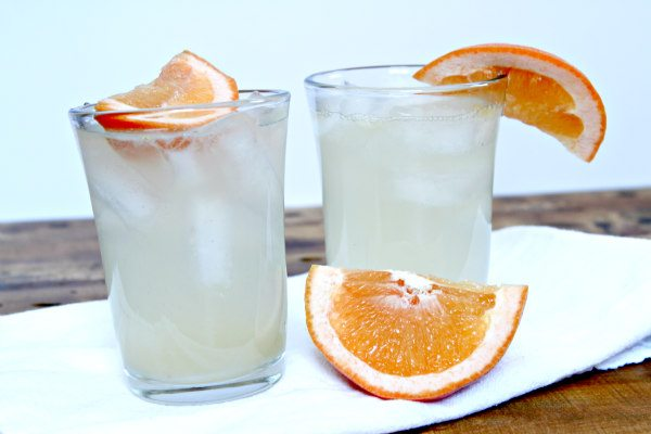 Two Grapefruit Crush Cocktails