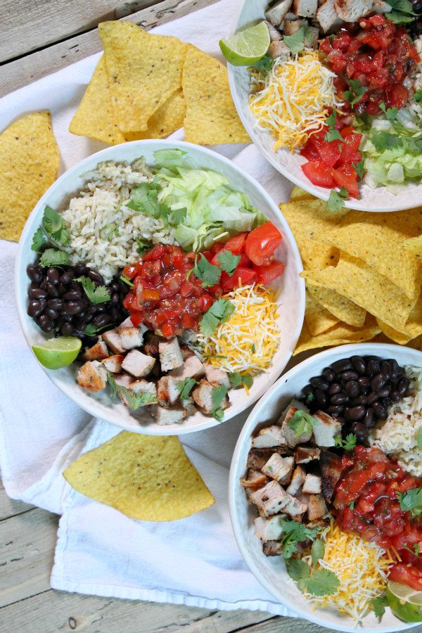 Grilled Pork Burrito Bowls Recipe