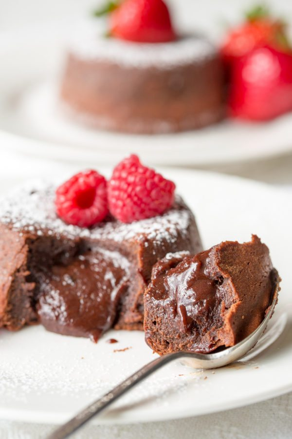 Easy Molten Chocolate Cake Recipe For Two