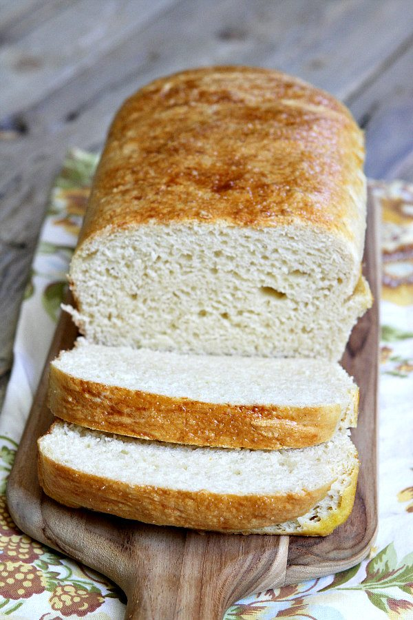 Rich Egg and Butter Bread Recipe - from RecipeGirl.com