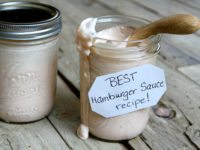 Best Burger Sauce Recipe