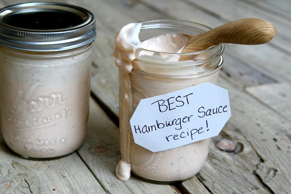 Truly the best sauce to add to your burgers: Best Burger Sauce Recipe