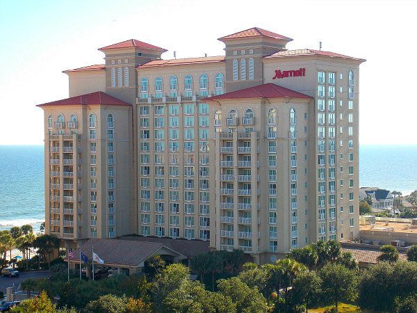 Marriott Resort Spa At Grande Dunes Myrtle Beach South Carolina